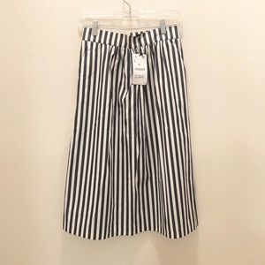 Zara, stripe skirt